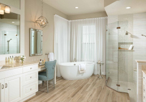 New renovated master bathroom